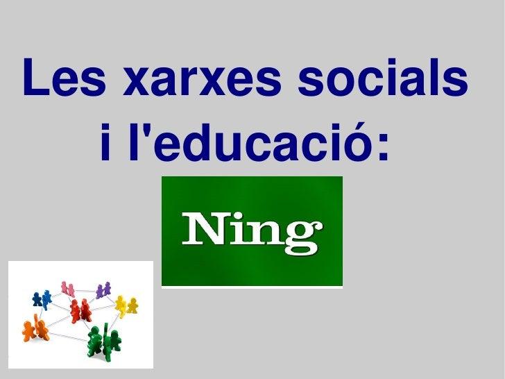 Xarxes Socials En Educació