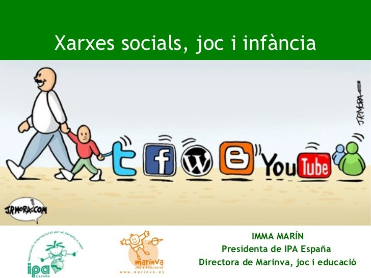 Xarxes socials i infancia