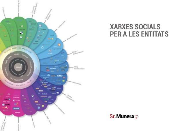 XARXES SOCIALSPER A LES ENTITATS