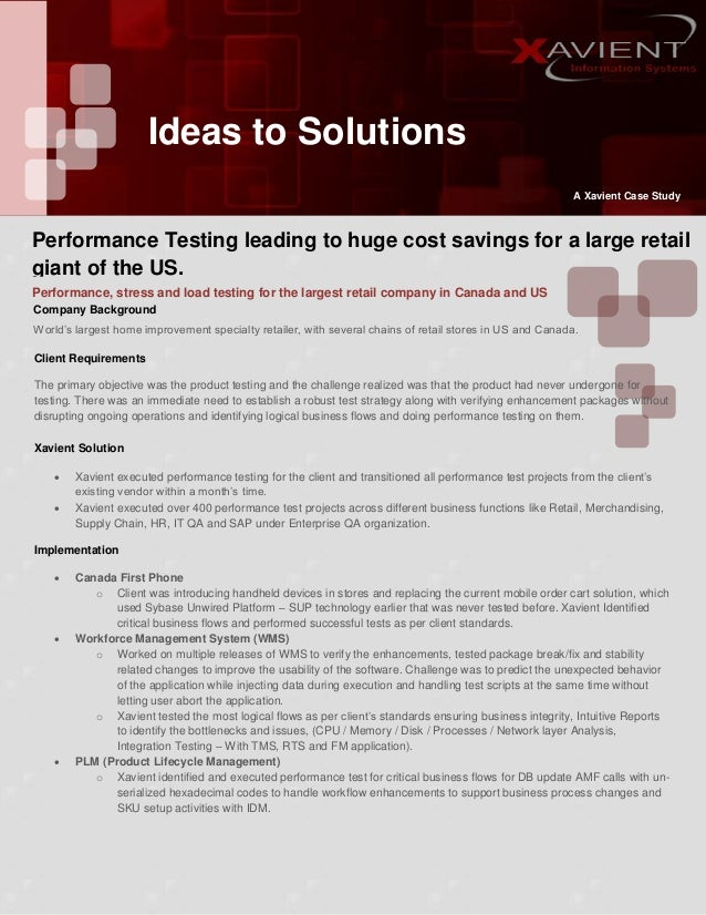 Xavient case study_performance_testing