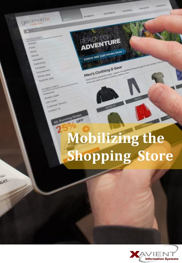 Mobilizing the Shopping Store