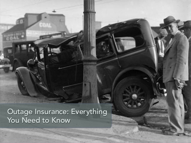 Outage Insurance: Everything You Need to Know