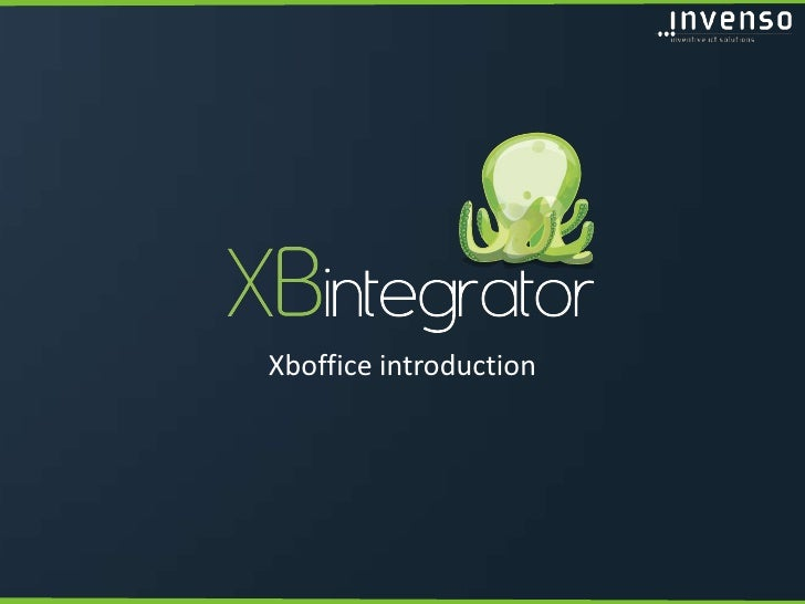 Xboffice introduction<br />