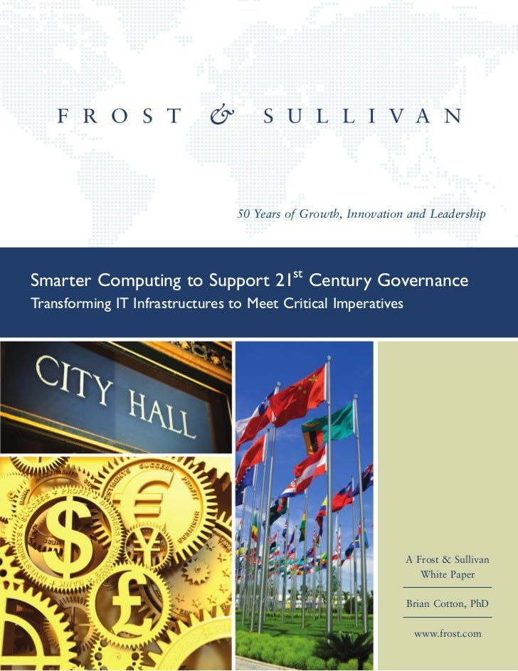 Smarter Computing to Support 21st Century Governance
