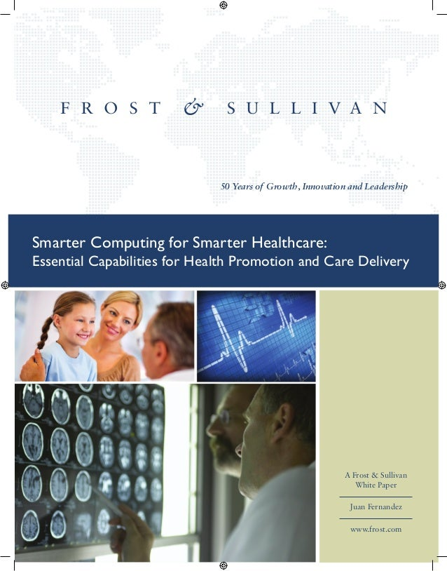 Smarter Computing for Smarter Healthcare: Essential Capabilities for Health Promotion and Care Delivery