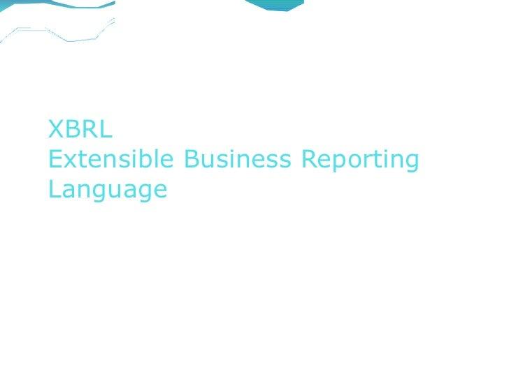 XBRLExtensible Business ReportingLanguage                     M S Godbole & Co                           Chartered        ...