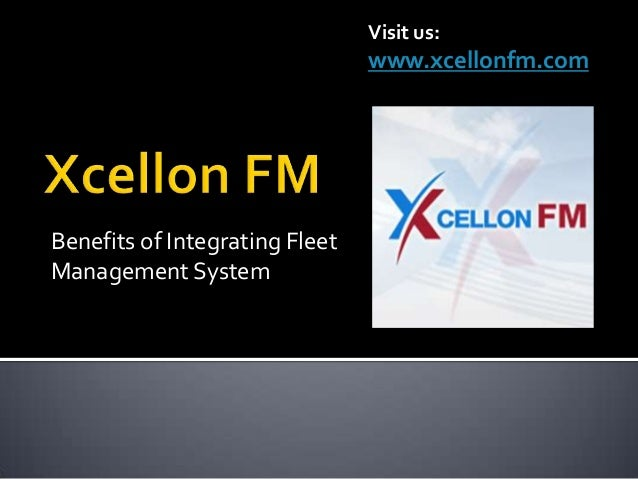 Xcellon fm cost-effective and customized fleet management solutions
