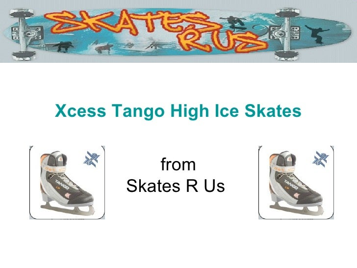 Xcess Tango High Ice Skates from Skates R Us