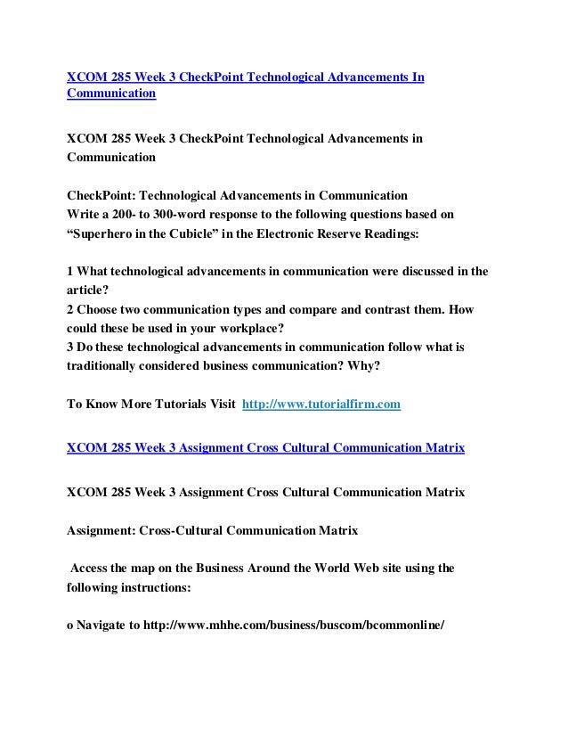 cross cultural matrix com 285 essay