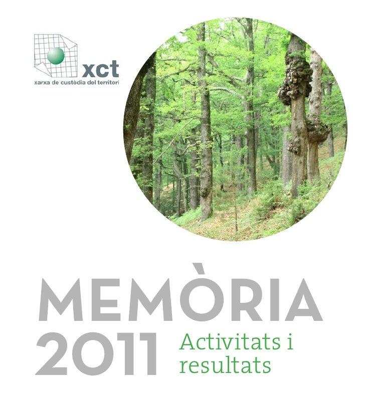 MEMÒRIA2011   Activitats i   resultats
