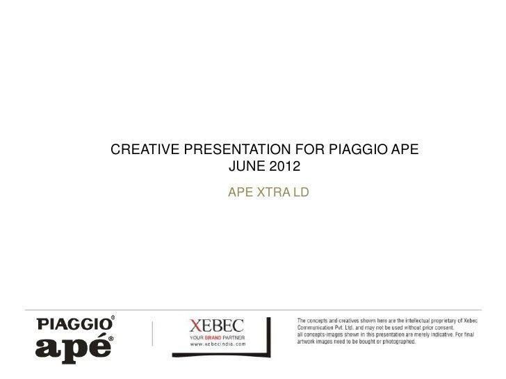 Piaggio Ape Logo For Piaggio Ape Photo