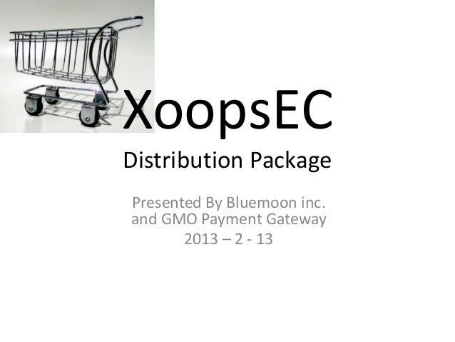 XOOPS EC Distribution