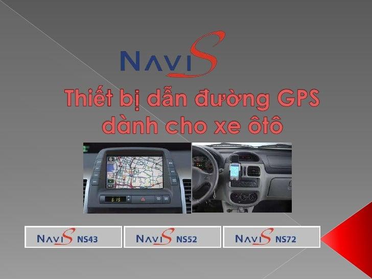 Thiết bị dẫn đường GPS dành cho xe ôtô<br />