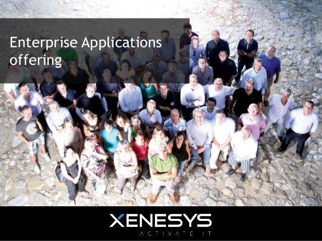 Enterprise Applications offering
