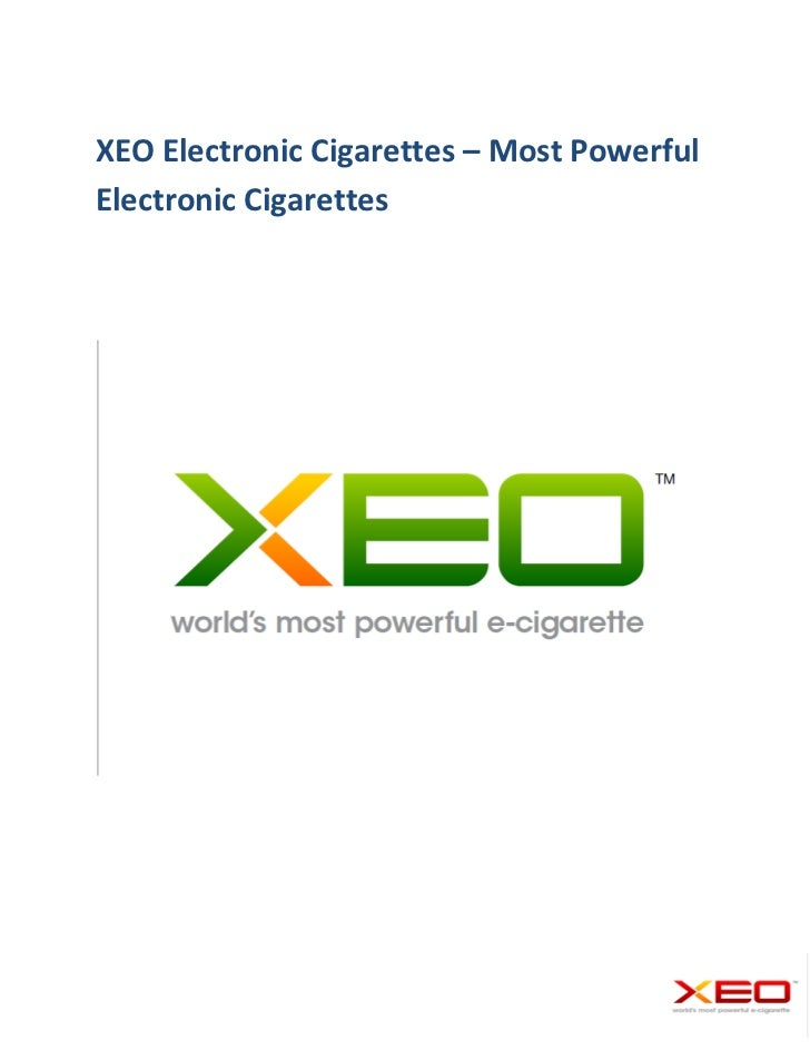 Electronic Cigarettes Product Catalogue - XEOCIGS.COM