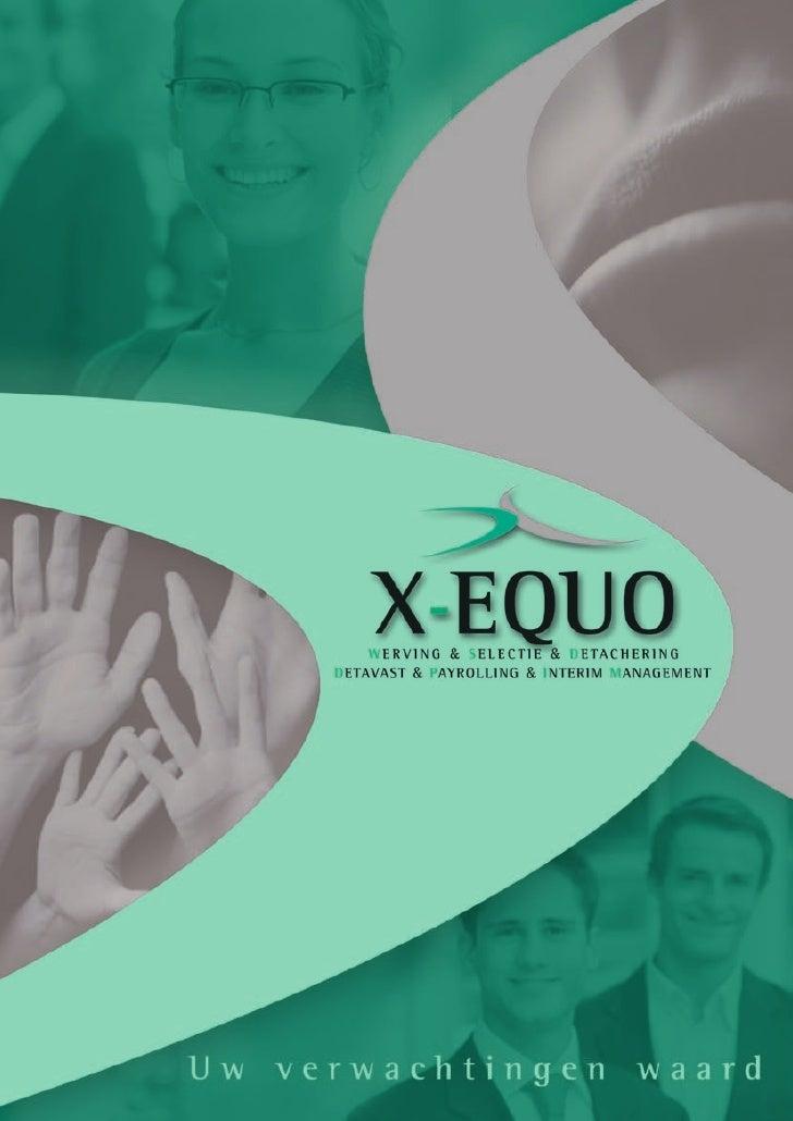 X Equo Brochure
