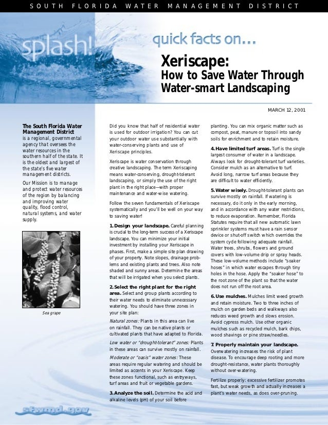 Quick Facts On Xeriscape: How to Save Water Through Water-Smart Landscaping