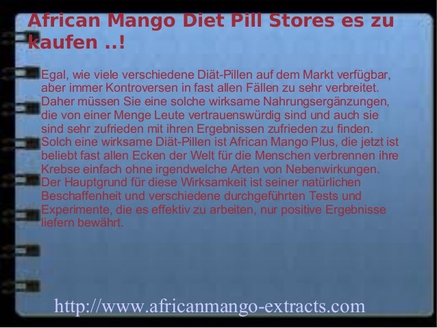 African Mango Diet Pills Shops