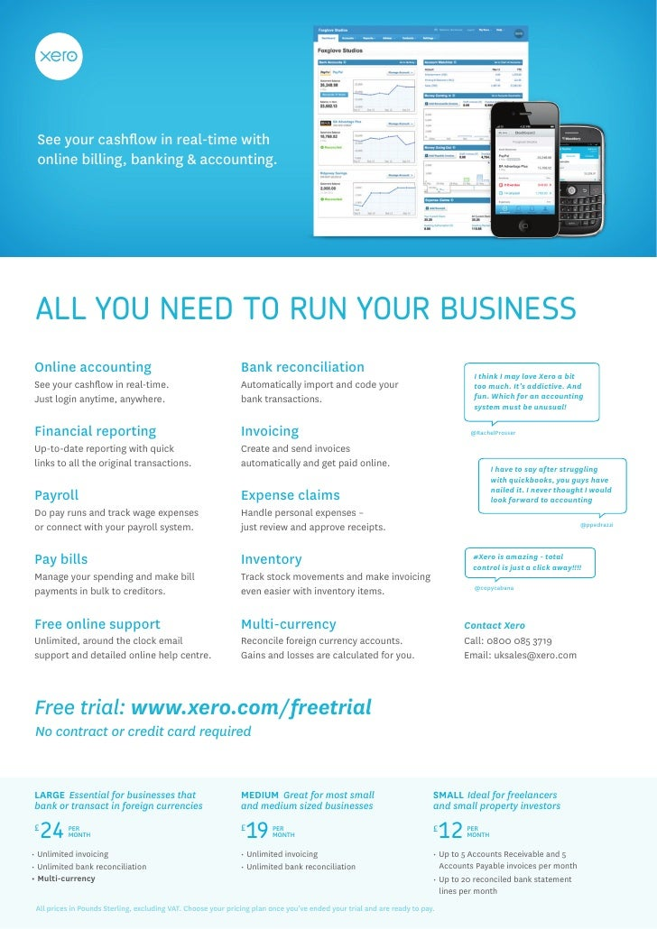 See your cashflow in real-time with online billing, banking & accounting. ALL YOU NEED TO RUN YOUR BUSINESSOnline accounti...