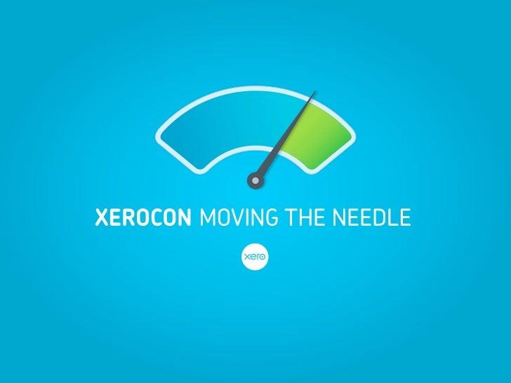 Welcome to XeroCon 2012        Mark Wright, MC