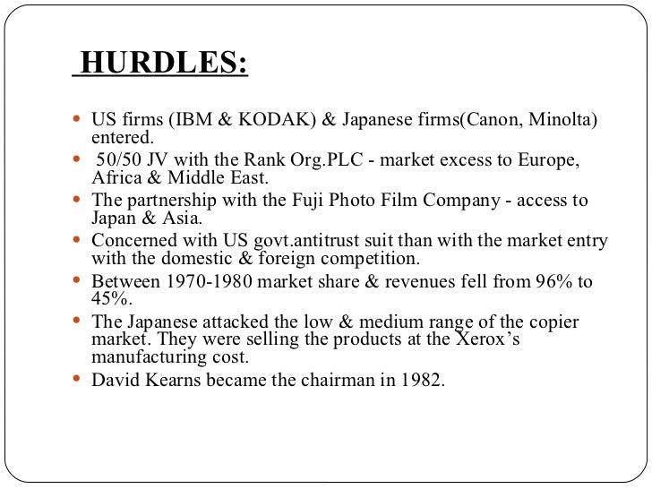 xerox finantial scandal essay