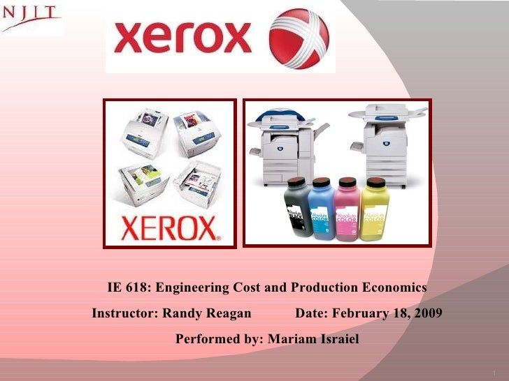 case study xerox essay Name mgmt 317 - organizational behavior module 1 xerox case study xerox case study diversity of employees and cultures in organizations possess the ability.