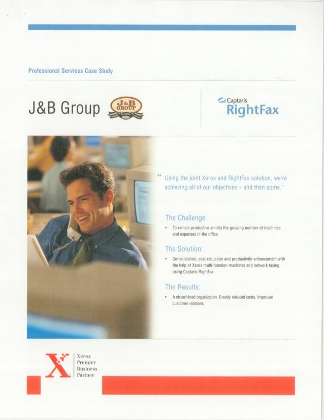 Xerox Printer Consolidation White Paper