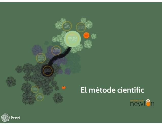 OP  El métode cientific  la mandarina de  0))