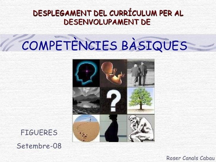 Xerrada Roser Canals 1220882996132418 9 CompetèNcies