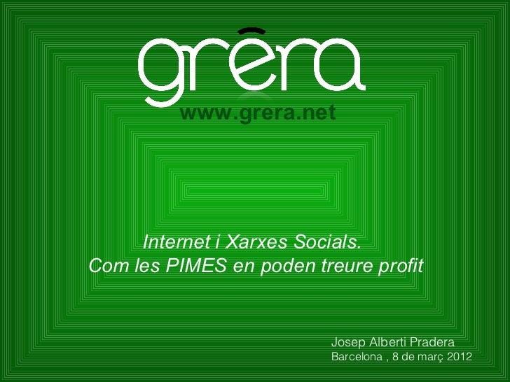Com internet ajudes les PIMES a fer #negoci