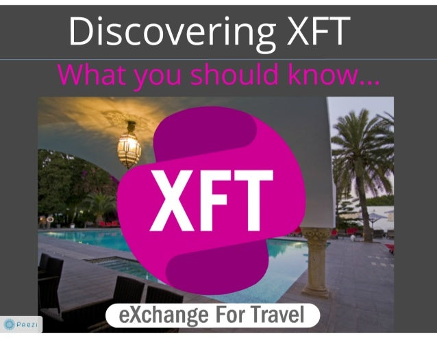 XFT Introduction at Travel Traction Berlin 2013