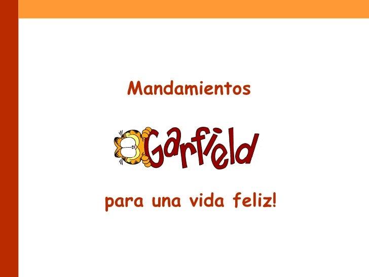 X Garfield Vidafeliz