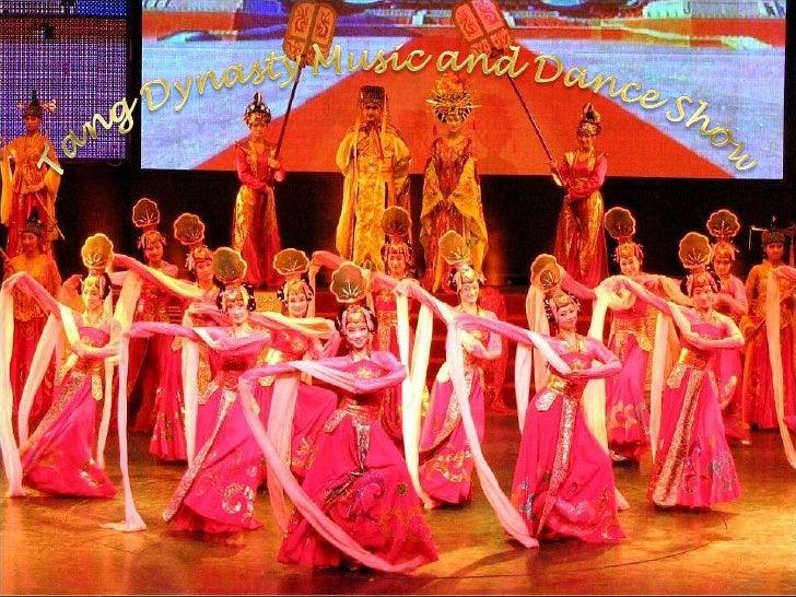 Cântece şi dansuri tradiţionale din epoca Dinastiei Tang