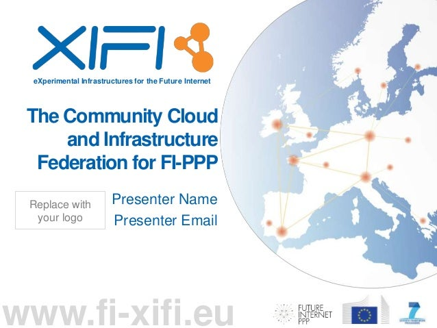 eXperimental Infrastructures for the Future Internet www.fi-xifi.eu The Community Cloud and Infrastructure Federation for ...