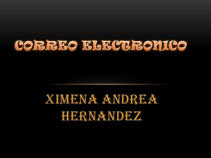 XIMENA ANDREA  HERNANDEZ