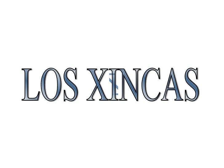 Xincas