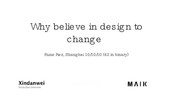 Design 2 Change Rune Rex