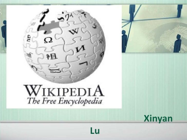 Xinyan lu, wikipedia