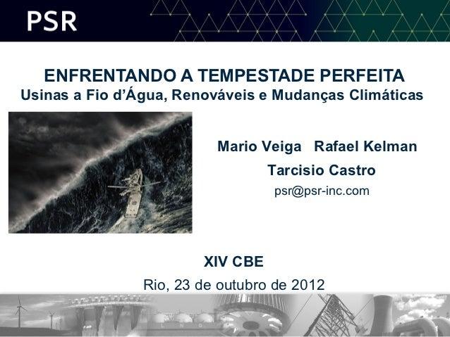 XIV CBE - MESA 2 - Mario Veiga - 23 outubro 2012