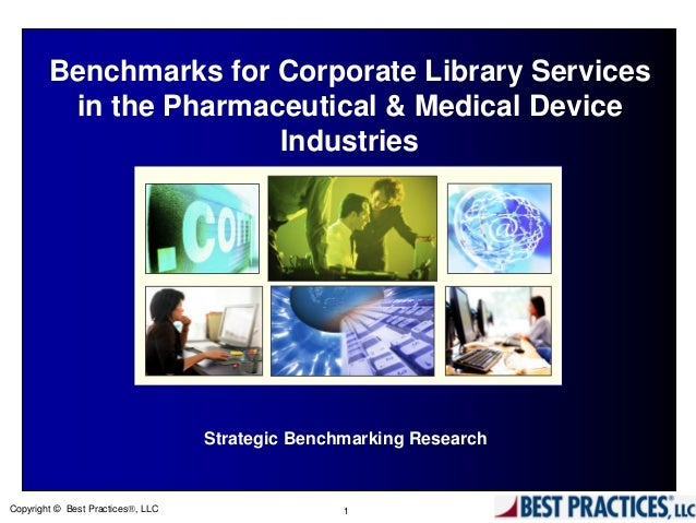 Benchmarks for corporate library services in the for Consul best practices