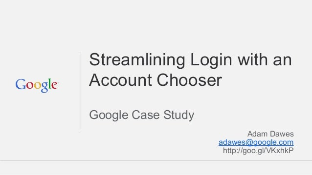 Cis14   google's account chooser