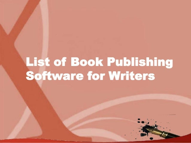 Xlibris Book Publishing Software for Writers