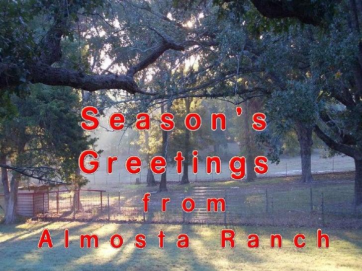 Almosta Ranch Christmas