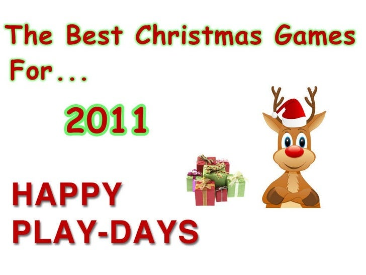 Xmas games 1