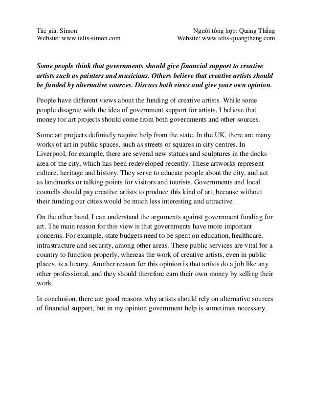 Reflective essay about band