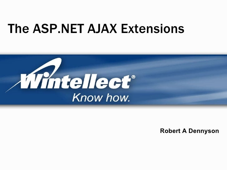 AJAX ASP.Net