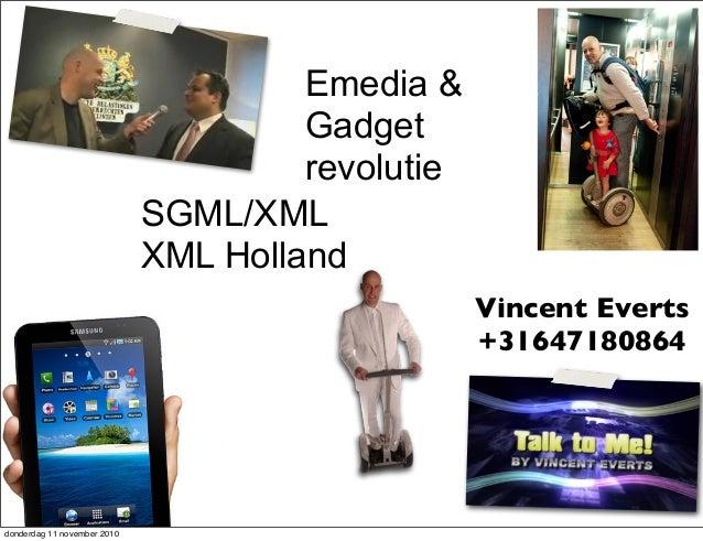 Xml holland Ebook trends & history