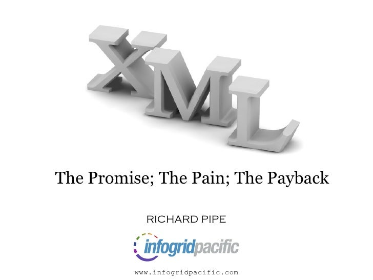 The Promise     The Promise; The Pain; The Payback             RICHARD PIPE             www.infogridpacific.com