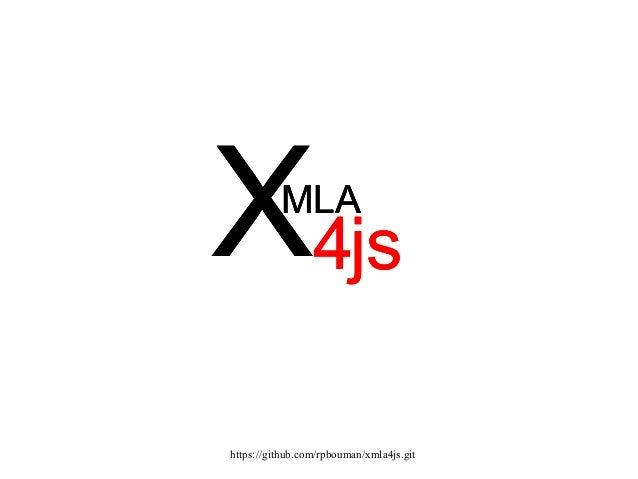 Xml4js pentaho