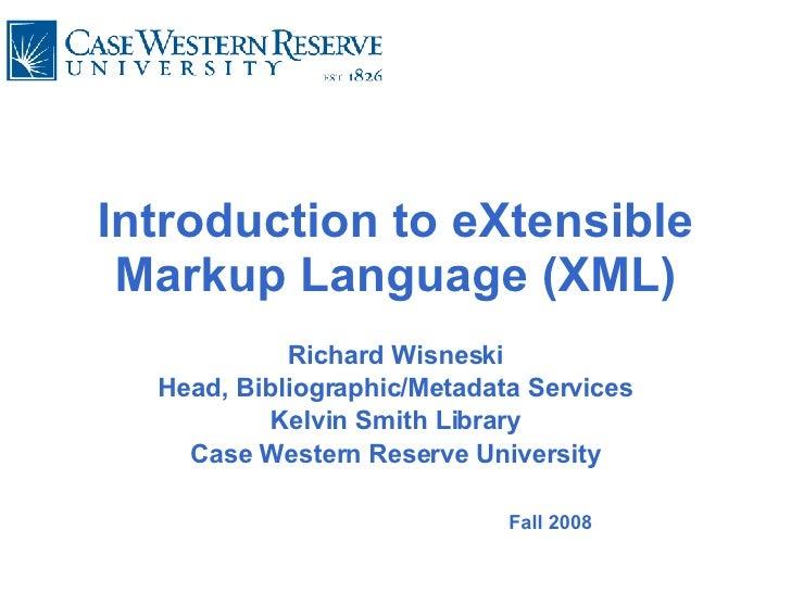 Xml Case Learns 2008